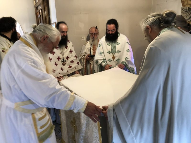 Εγκαίνια Ιερού Ναού Αγίας Αικατερίνης Αλαλκομενών