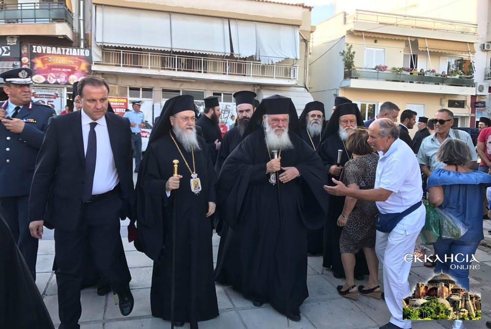 Αρχιεπίσκοπος Ιερώνυμος εορτή Αποστόλων Πέτρου Παύλου