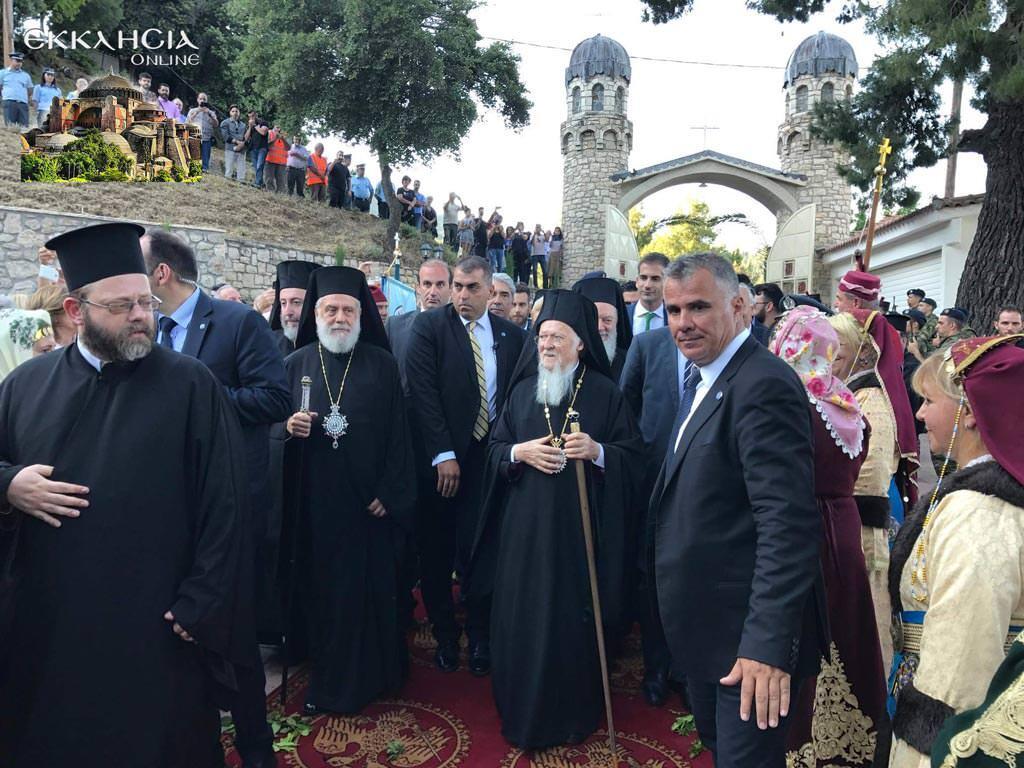 Παρτιάρχης Βαρθολομαίος αγιοκατάταξη άγιου ιάκωβου τσαλίκη