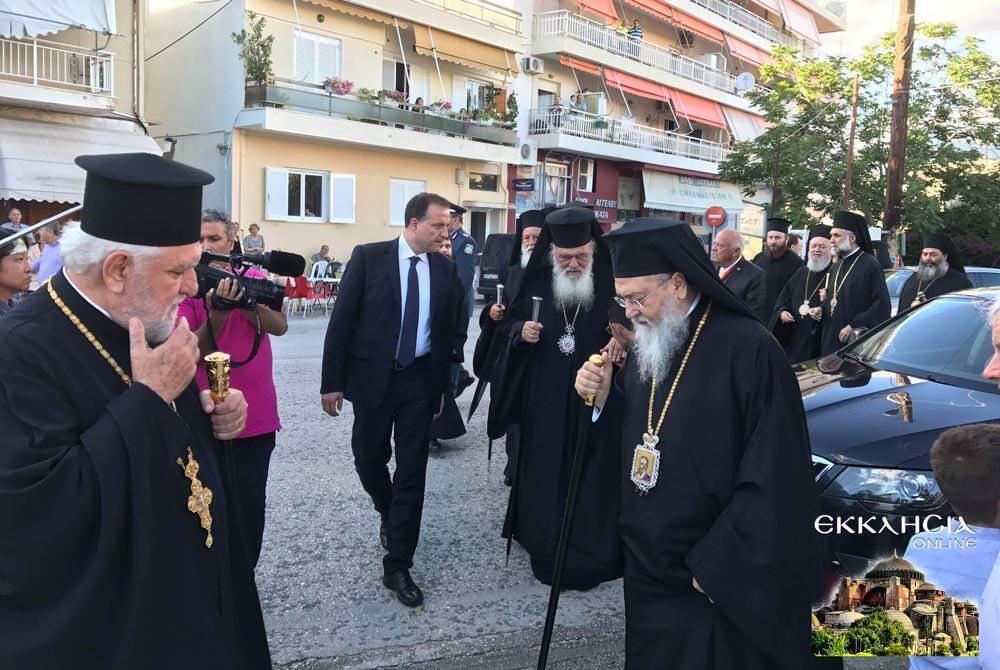 Αρχιεπίσκοπος εορτή Αποστόλων Πέτρου Παύλου
