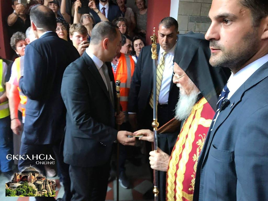 Βαρθολομαίος αγιοκατάταξη άγιου ιάκωβου τσαλίκη