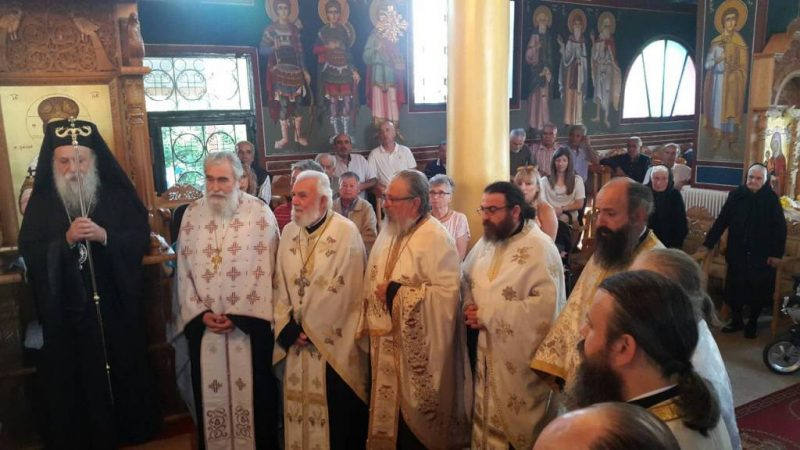 Εγκαίνια Ιερού Ναού Κοιμήσεως της Θεοτόκου Βατολάκκου Γρεβενών