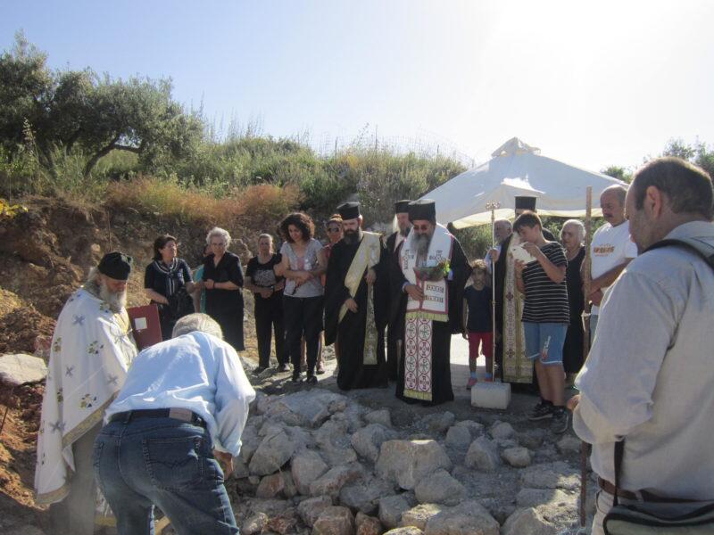 Κρήτη: Ανέγερση Ιερού Ναού Αγίων Πορφυρίου και Παϊσίου