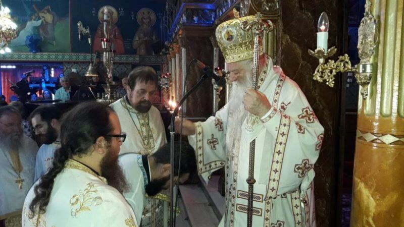 Χειροτονία Πρεσβυτέρου από τον Καλαβρύτων Αμβρόσιο στον Ιερό Ναό Αγίου Παντελεήμονος Αιγείρας