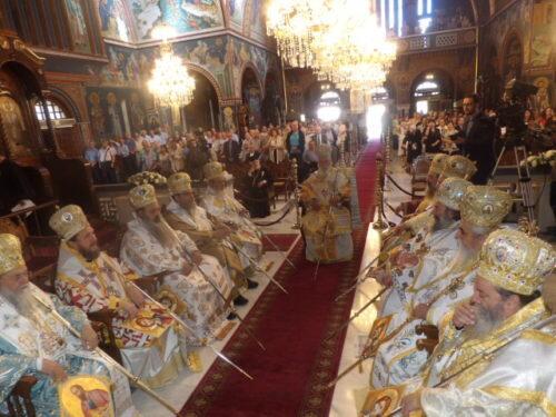 Εορτή Αποστόλων Πέτρου και Παύλου: Πολυαρχιερατικό συλλείτουργο στην Κόρινθο