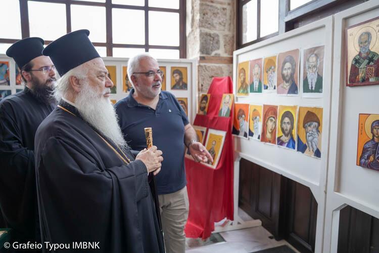 ΚΔ´ Παύλεια: «Χρώμα Βυζαντίου», εγκαίνια 5ης έκθεσης έργων της Σχολής Βυζαντινών Τεχνών της Ιεράς Μητροπόλεως