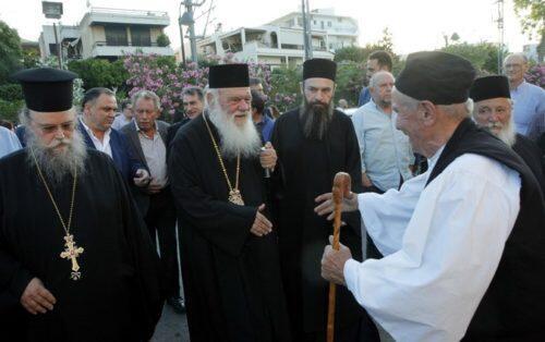 Ο Αρχιεπίσκοπος επεσήμανε την θέση της Εκκλησίας για το Μακεδονικό ζήτημα