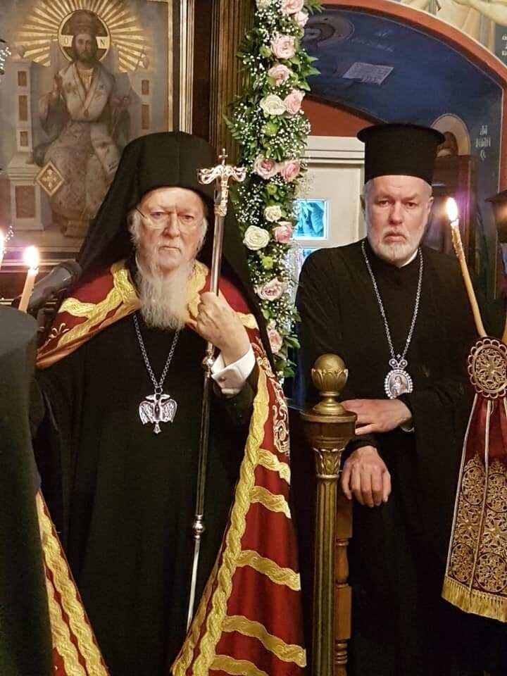 Σπέτσες: Δοξολογία επί τη αφίξει του Οικουμενικού Πατριάρχου Βαρθολομαίου