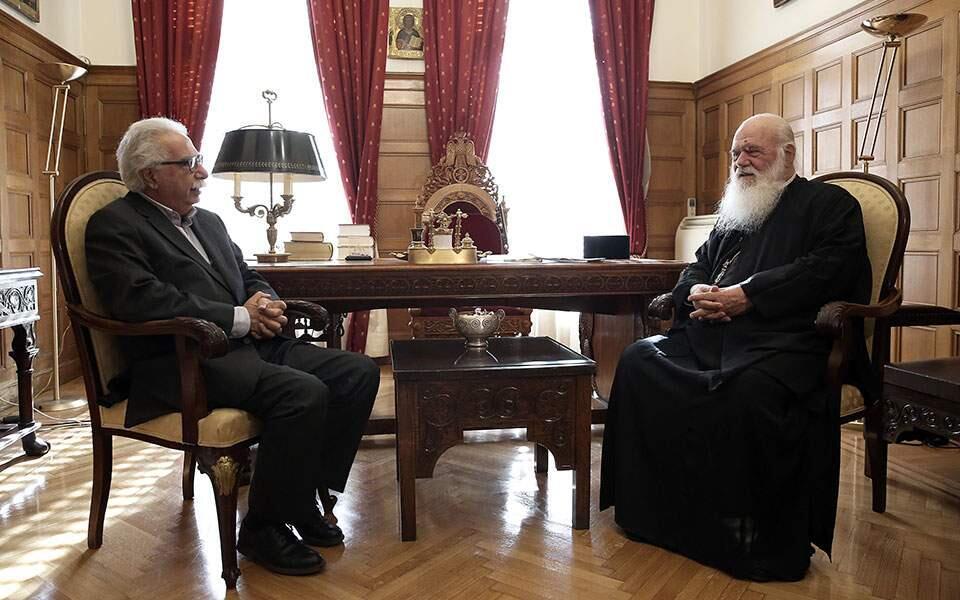 Ιερώνυμος σε Γαβρόγλου: «Αλήθεια τέλειωσε η περιοδεία του Οικουμενικού Πατριάρχη στην Ελλάδα;»
