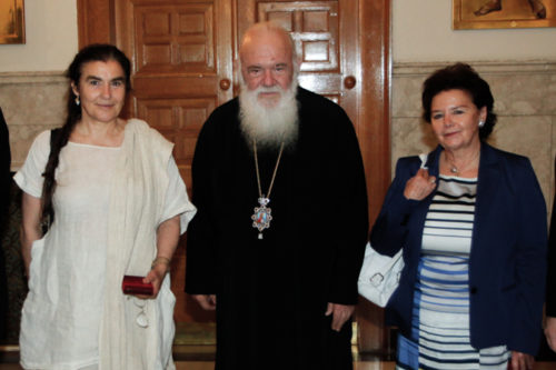 Συνάντηση Αρχιεπισκόπου με την Υπουργό Πολιτισμού