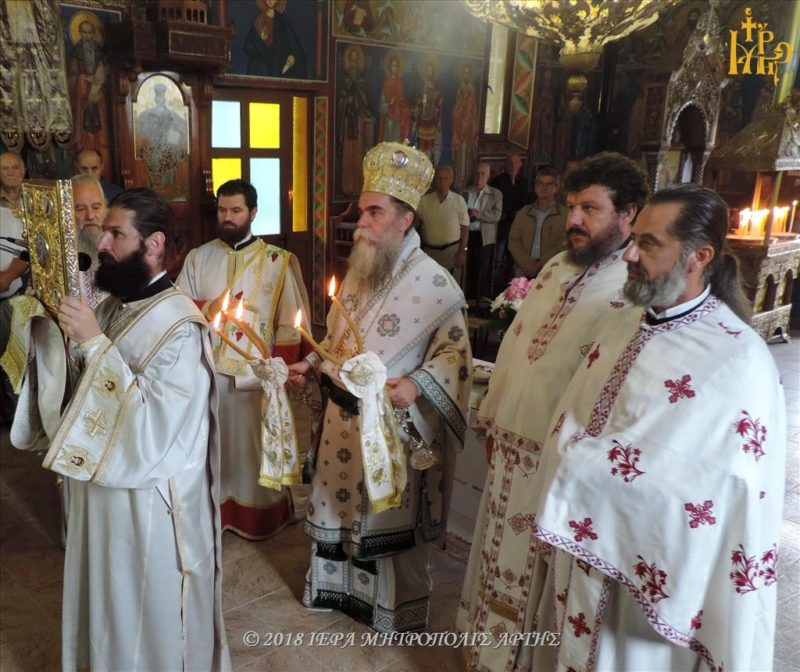 Άρτα: Κυριακή Γ΄ Ματθαίου στην Ενορία Αγίου Μηνά Καλλονής