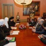 Με τον Πατριάρχη Μόσχας συναντήθηκε ο Υπουργός Εξωτερικών
