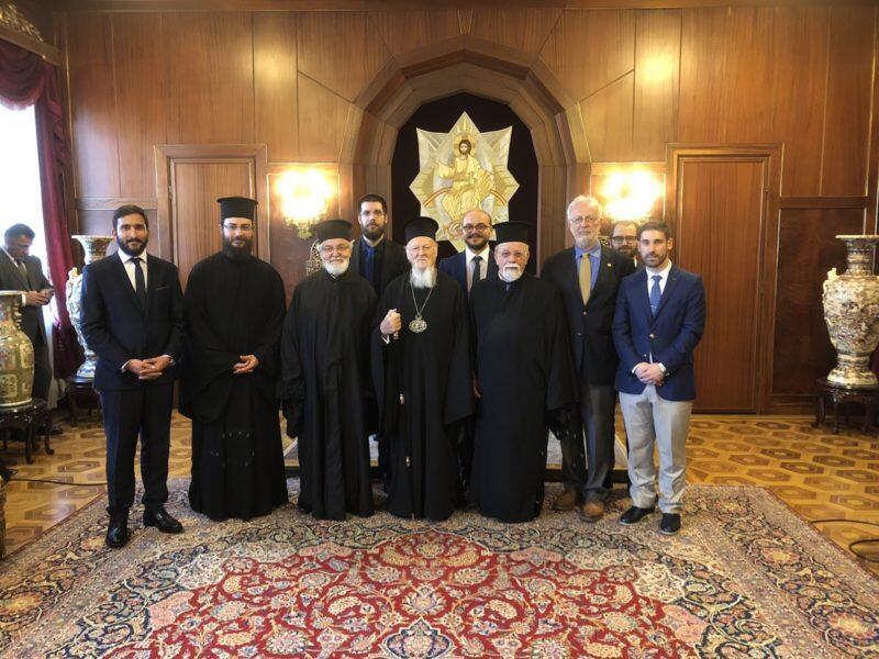 Προσκυνηματική επίσκεψη του Μεταπτυχιακού Ινστιτούτου Ορθοδόξου Θεολογίας του Σαμπεζύ στην Κωνσταντινούπολη