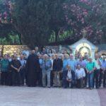Προσκυνηματική του Συλλόγου Ευβοέων Φίλων του Αγίου Όρους στην Ιερά Μονή Οσίου Δαυΐδ
