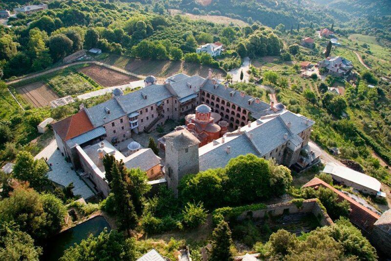 Άγιο Όρος: Ανακοίνωση της Μονής Κουτλουμουσίου για Μακεδονία