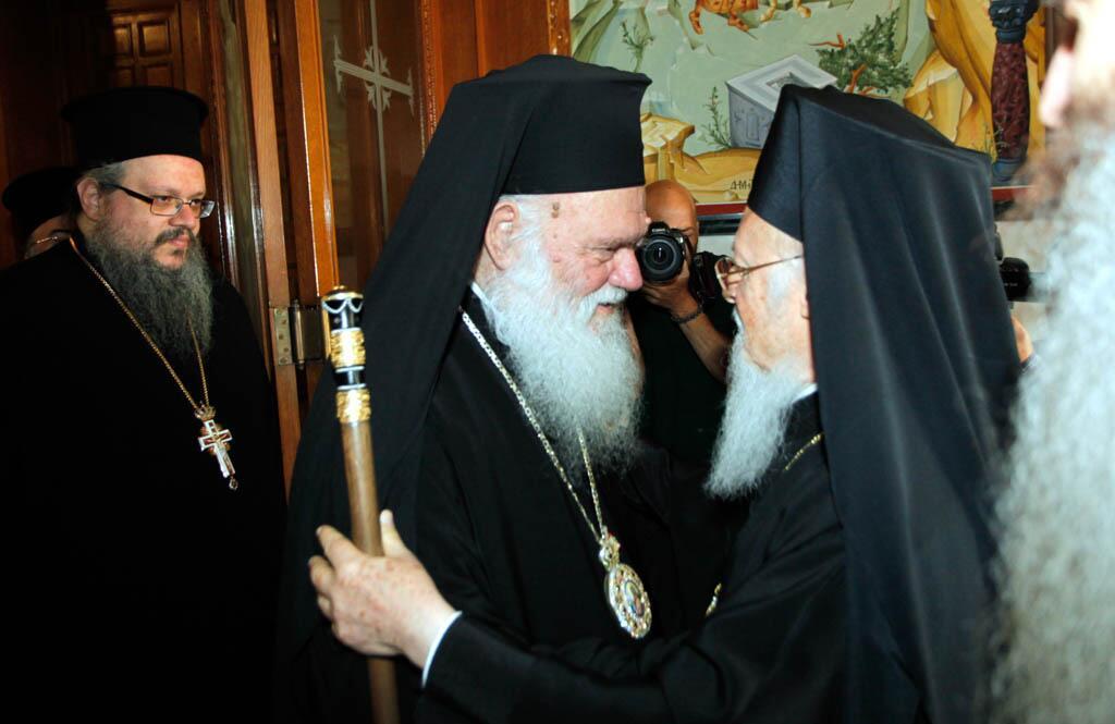 Πρόεδρο της Δημοκρατίας και Αρχιεπίσκοπο είδε ο Οικουμενικός Πατριάρχης