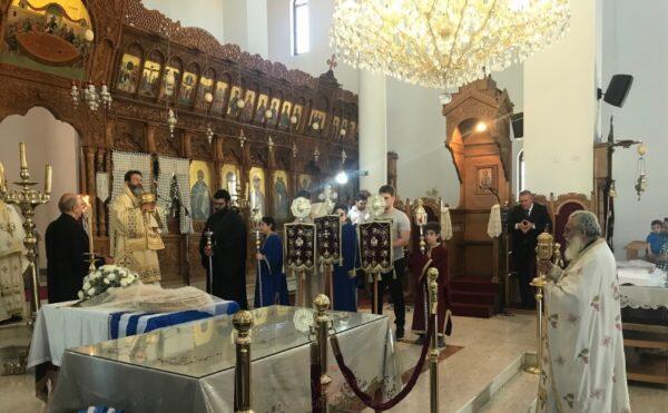 Θεία Λειτουργία και Μνημόσυνα Ενορίας Αποστόλου Ανδρέα Νεαπόλεως – Κωνσταντίας
