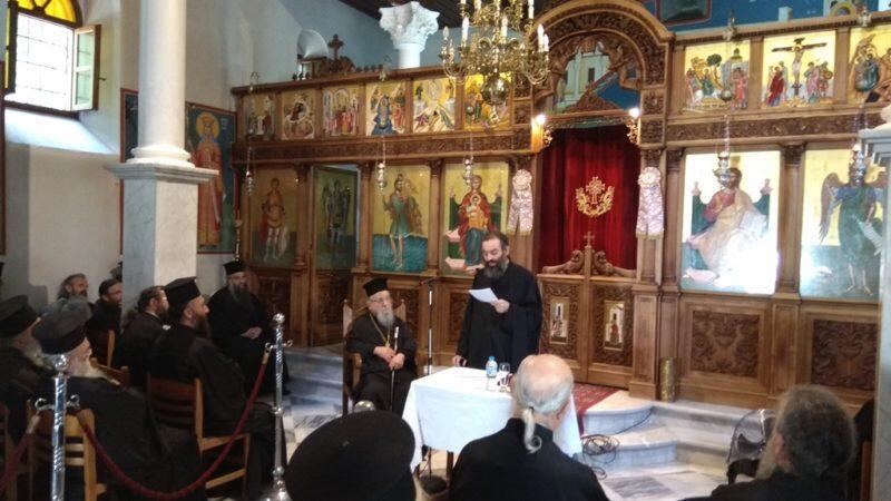 Ιερατική Σύναξη στην Ιερά Μητρόπολη Αιτωλίας και Ακαρνανίας