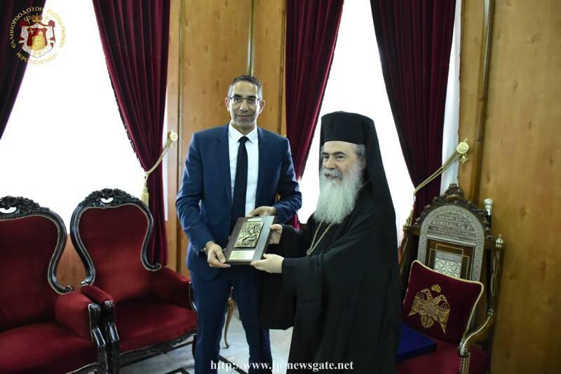 Στο Πατριαρχείο Ιεροσολύμων ο Υπουργός Αμύνης της Κύπρου