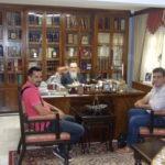 Το προεδρείο των αστυνομικών υπαλλήλων Κορινθίας στον Μητροπολίτη Διονύσιο