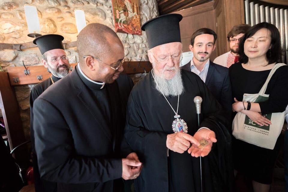 Ο Πατριάρχης Βαρθολομαίος στο Οικουμενικό Ινστιστούτο του BOSSEY