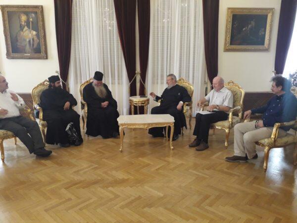 Ο Καθηγούμενος της Ιεράς Μονής Αγίας Σκέπης Αυστρίας στον Αρχιεπίσκοπο Κύπρου