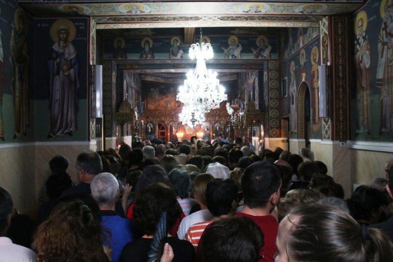 Οι Σέρρες υπδέχθηκαν το ιερό λείψανο της Αγίας Αναστασίας της Ρωμαίας από το Άγιο Όρος