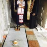 Τρισάγιο από τον Μητροπολίτη Κερκύρας στην Ιερά Μονή Υ.Θ. Πλατυτέρας