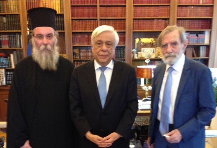 Με τον Πρόεδρο της Δημοκρατίας συναντήθηκε ο Μητροπολίτης Κισάμου