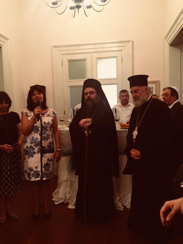 Σμύρνη: Δεξίωση προς τιμήν του Μητροπολίτη παρέθεσε η Γενική Πρόξενος της Ελλάδος