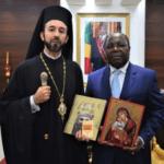 Επίσημη συνάντηση Μητροπολίτη Μπραζαβίλ με Πρωθυπουργό του Κονγκό