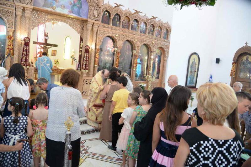 Πάτρα: Β' Επέτειος Εγκαινίων του Ιερού Ναού Αγίου Χαραλάμπους Τσουκαλεΐκων