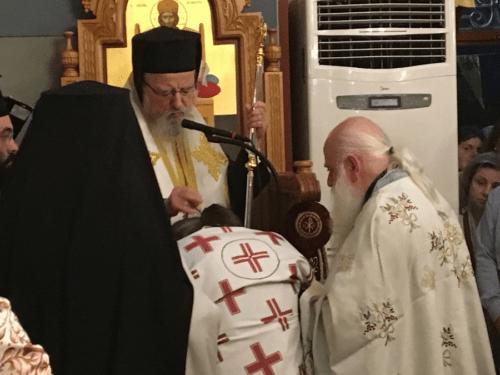 Χειροθεσία Πρωτοπρεσβυτέρου στον εορτάζοντα Ναό Πέτρου και Παύλου στα Διαμαντέικα