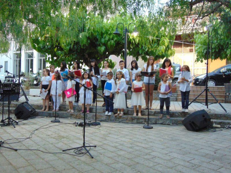 Μουσική Εκδήλωση από τη μικτή νεανική χορωδία της ενορίας Καστελλίου Πεδιάδος