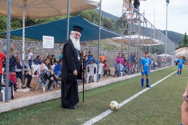6ο Τουρνουά Ποδοσφαίρου 7Χ7 στις Κατασκηνώσεις της Μητρόπολης Θηβών στον Παρνασσό