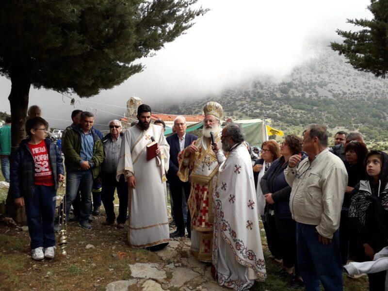Η εορτή του Αγίου Πνεύματος στον Ομαλό Βιάννου