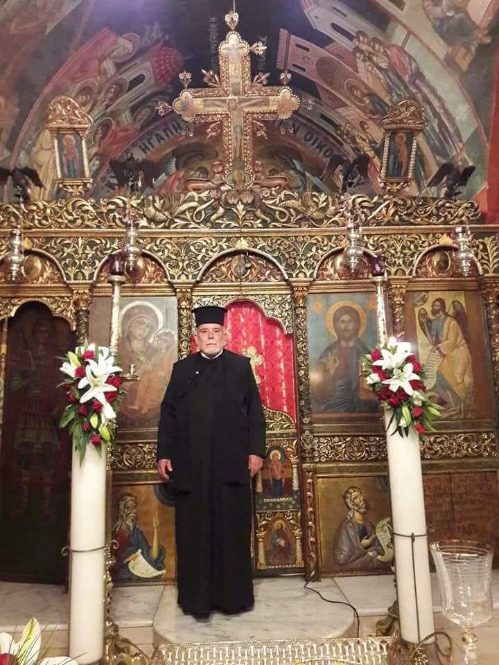 Θλίψη στη Ρόδο: Εκοιμήθη ο εφημέριος του Ιερού Ναού Αγίου Σπυρίδωνος Θεολόγου