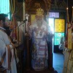 Στον πανηγυρίζοντα Ι. Ναό του Αγίου Στεφανά ο Κορίνθου Διονύσιος