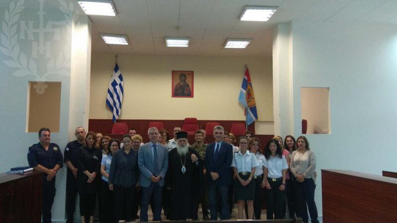 Επίσκεψη Νεαπόλεως Βαρνάβα στο Στρατοδικείο Θεσσαλονίκης
