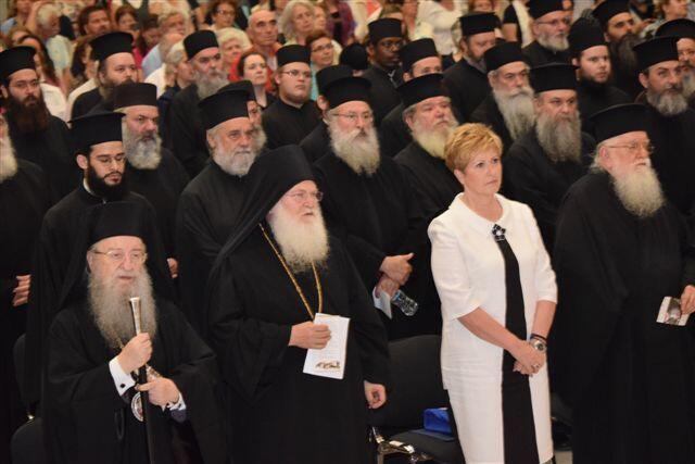 """Πλήθος κόσμου στην παρουσίαση του τόμου """"Γέρων Ιωσήφ Βατοπαιδινός (1921-2009)"""""""