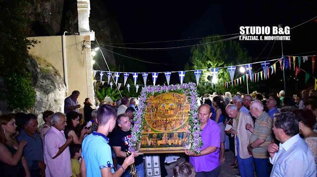 Αγίων Πάντων: Λαμπρή Εορτή στο Ναύπλιο