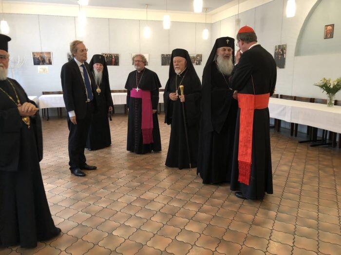 Ο Εορτασμός των ονομαστηρίων του Οικουμενικού Πατριάρχη στη Μητρόπολη Γερμανίας
