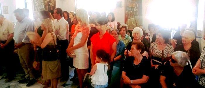 Η Εορτή της Ευρέσεως της Θαυματουργού Εικόνος της Αγίας Αικατερίνας στις Κατασκηνώσεις της Μητρόπολης Φθιώτιδος