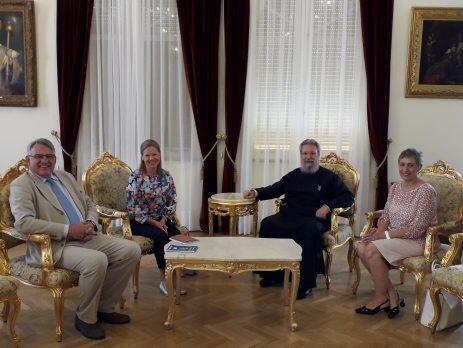 Συναντήσει Αρχιεπισκόπου Κύπρου με Πρέσβεις Σουηδίας και Σερβίας