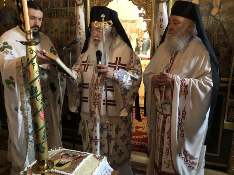 Εορτή Αγίου Λουκά του Ιατρού στην Ιερά Μονή Μεταμορφώσεως του Σωτήρος Σαγματά