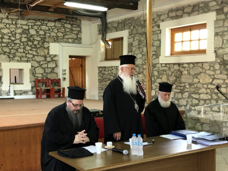Ιερατική Σύναξη της Ιεράς Μητροπόλεως Θηβών