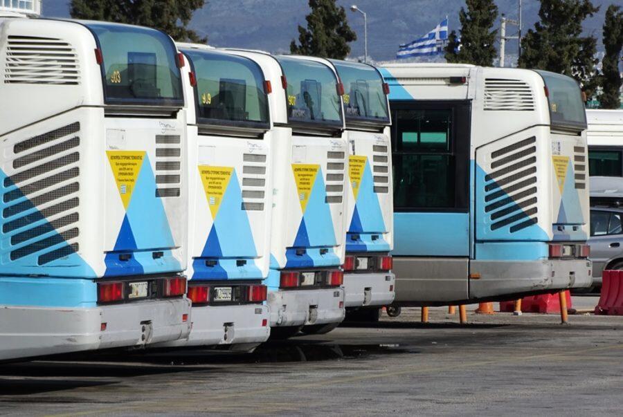 Απεργία - λεωφορεία