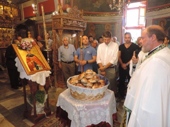 Μύκονος: Τιμήθηκε η μνήμη του Αγίου Σαμψών του Ξενοδόχου