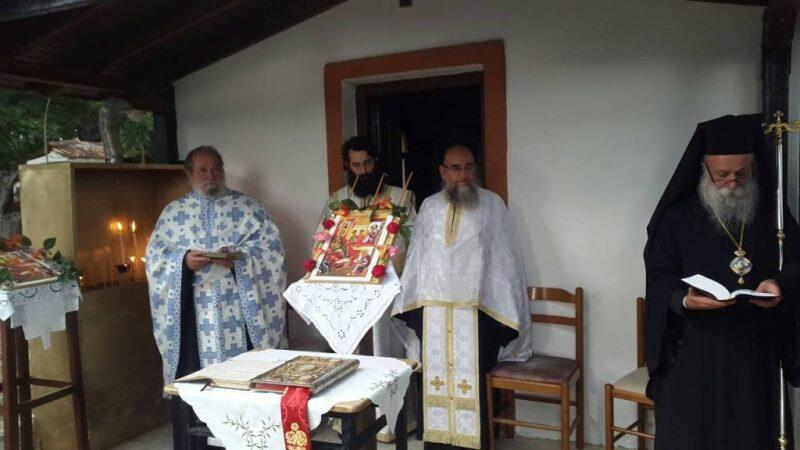 Εορτή Γενεθλίου του Τιμίου Προδρόμου στο Καλόχι Γρεβενών
