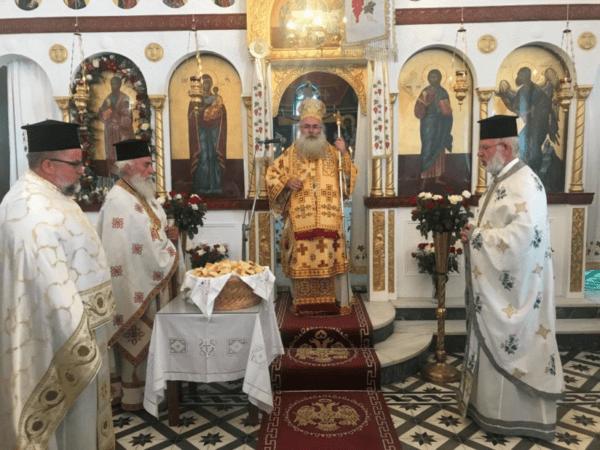 Ιεράπετρα: Με Αρχιερατική Θεία Λειτουργία πανηγύρισε ο Ιερός Ναός Αγίου Παύλου Φέρμων